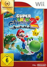 Nintendo wii jeu: super mario Galaxy 2 wii selects pal version NOUVEAU & OVP