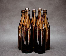 24 x Glass Beer Bottles 0,5 L 50cl + 100 Crown Caps Home Brew, Fast Delivery