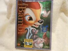 Bambi (Blu-ray/DVD, 2011, 2-Disc Set, Diamond Edition)**FACTORY SEALED**