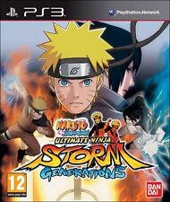 Naruto Shippuden Ultimate Ninja Storm Generations ~ PS3 (en gran condición)