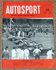 Autosport 29/8/52 - TURNBERRY NATIONAL TROPHY - LEIGE ROME LIEGE RALLY - SPELGA