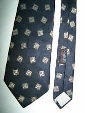 "CRAVATTA "" AQUASCUTUM OF LONDON "" 100% SILK TIE MADE IN ENGLAND"