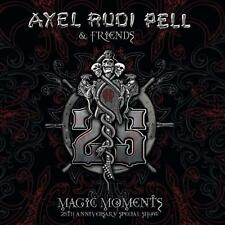 AXEL RUDI PELL - MAGIC MOMENTS (25TH ANNIVERSARY SPECIAL SHOW)    - 3xCD NEU