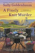 A Finely Knit Murder (Seaside Knitters Mystery), Goldenbaum, Sally, Good Book