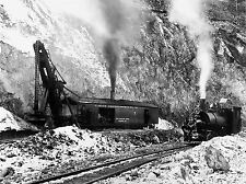 PHOTOGRAPH INDUSTRIAL BOSTON MARION STEAM SHOVEL SMALL ENGINE PRINT LV3545