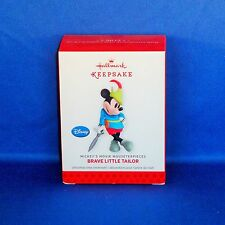 Hallmark - 2013 Brave Little Tailor Mickey's Movie Mousterpieces #2 Ornament NEW