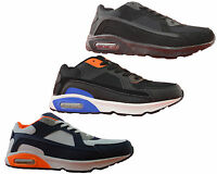 Mens Air Gym Running Jogger Lace Up Sports Fashion Trainers Shoes Size 7-12
