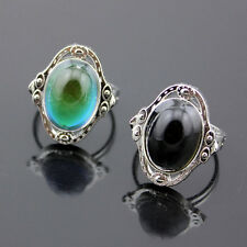 New 1PC Fashion Mood Ring Changing Color Magic Adjustable Temperature Control