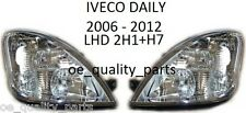 IVECO DAILY 2H1 H7 FRONT 2 HEADLAMPS HEADLAMP HEADL LIGHT LIGHTS LAMP 2006-  LHD