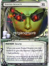 Android Netrunner LCG - 1x Posted Bounty #095 - Cyber War Corporation Draft Pack