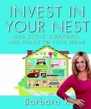 Invest in Your Nest by Barbara K - NEW - LOW SHIP