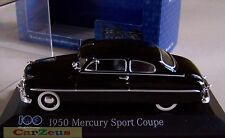 1:43 Minichamps 1950 Mercury Sport Coupe. 100 Years of Ford Heart & Soul
