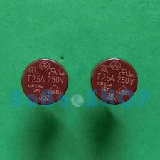 5pcs T2.5A 250V 2.5A TR5 Miniature Slow Blow Micro Sub Min Fuse Brand New
