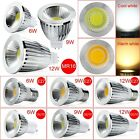 6W dimmbar 9W 12W GU10 E27 MR16 COB LED Lampen kühl/Warm White Spot Lights groß