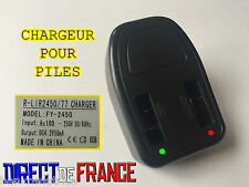 CHARGEUR PILE BOUTON ACCU CR2032 CR2450 CR2430 CR1632 • CHARGE TRES RAPIDE •