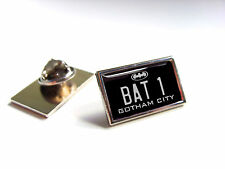 BATMAN BATMOBILE NUMBER PLATE LAPEL PIN BADGE TIE PIN GIFT