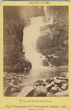F. Pietschmann, Landeshut/Schlesien: Riesengebirge Zackelfall, um 1880