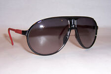 NEW Carrera Sunglasses Champion/RUBBER/S Aviator D2G/EU BLACK/GRAY AUTHENTIC