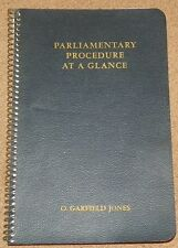 PARLIAMENTARY PROCEDURE AT A GLANCE Notebook Binder