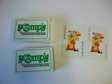 Pre-Owned POMP'S TIRE Advertising Playing Cards Complete FREE US S/H