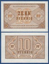 BUNDESKASSENSCHEIN  10 Pfennig (1967) Kassenfrisch / UNC  Ro.315