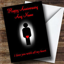 Sexy And Funny Personalised Anniversary Greetings Card