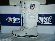 LADIES WHITE PAJAR GRIP 100% WATERPROOF WINTER/SNOW BOOTS UK SIZE 8
