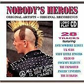 """Nobody's Heroes(1993)""-PUNK COMP-UK SUBS-SHAM 69-EXPLOITED-SLF-999-UPSTARTS-NEW"