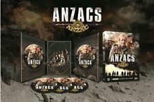 THE ANZACS (1985 Paul Hogan) Miniseries -  DVD - PAL Region 2 - New