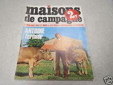 MAISONS DE CAMPAGNE N° 25 novembre 1969 ANTOINE fermier carrelages sols et mur *