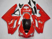 Red Injection bodywork Fairing Kit For Triumph Daytona 675 2006 2007 2008 06-08