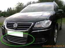 VW TOURAN II  CHROME Kit Front Grille Covers Trim Tuning