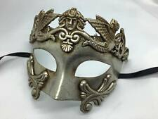 Venetian Half Masquerade Mardi Gras Mask Vintage Design For Men - Resin Mask