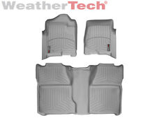 WeatherTech® FloorLiner for Chevrolet Silverado Crew Cab - 2008-2013 - Grey
