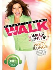 Leslie Sansone: Walk To The Hits Party Songs (2013, DVD New) WS