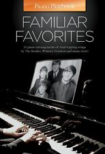 Piano Playbook Familiar Favorites LIONEL RICHIE Coldplay Rock POP Music Book