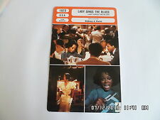 CARTE FICHE CINEMA 1972 LADY SINGS THE BLUES Diano Ross Billy Dee Williams Pryor
