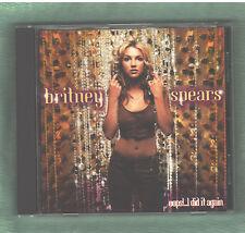 BRITNEY SPEARS Oops!...I Did It Again CD 2000 Pop 12 Songs