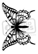 A7 'Beautiful Butterfly' Unmounted Rubber Stamp (SP00006373)