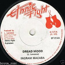 "ethnic fight 7"" : INGRAM MACABA-dread mood  (hear)"