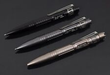 Self Defense Tactical Pen High-end Aluminum With Glass Breaker Survival EDC Tool