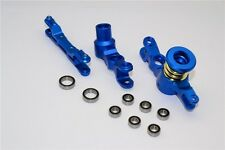 TRAXXAS X-MAXX 7076 GPM BLUE ALUMINUM STEERING ASSEMBLY WITH BEARINGS TXM048