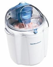 Hamilton Beach 68320 1-1/2-Quart Capacity Ice Cream Maker White