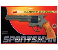 44 MAGNUM TOY Pistol gun SHOOTS SOFT RUBBER AMMO air Bullet EDISON GIACATOLLI