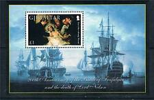 Gibraltar 2005 Death of Nelson MS 1144 MNH