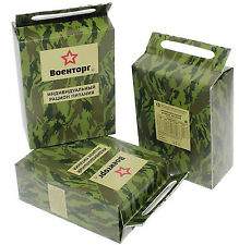 SET 3 Food Military Ration Army Russian Daily Pack Mre Emergency Rations Combat