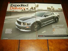 2006 SALEEN S197 TURBOCHARGED MUSTANG ***ORIGINAL 2010 ARTICLE***