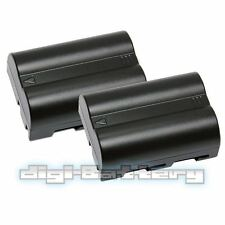 2x BATTERY FOR NIKON EN-EL3 EN-EL3A 1300mAh D50 D70 D100 D70 BATTERY x2
