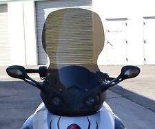 """CAN-AM SPYDER 18"""" TALL DARK GRAY REPLACEMENT WINDSHIELD"""