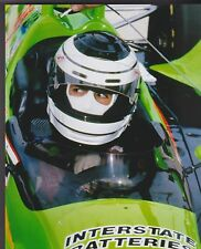 ROBERTO GUERRERO COCKPIT INTERSTATE BATTERIES  INDY 500 8 X 10 PHOTO  7